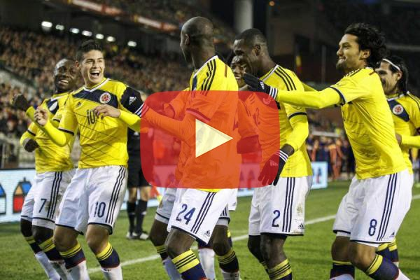 Colombia vs Japon En Vivo