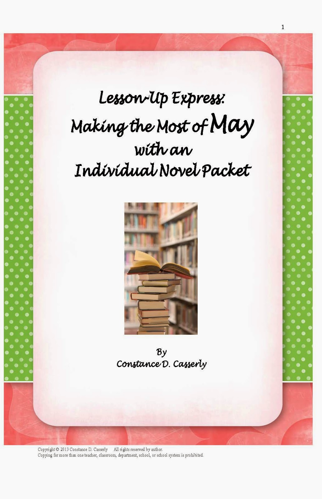 Reaing Comprehension - Making The Most of May