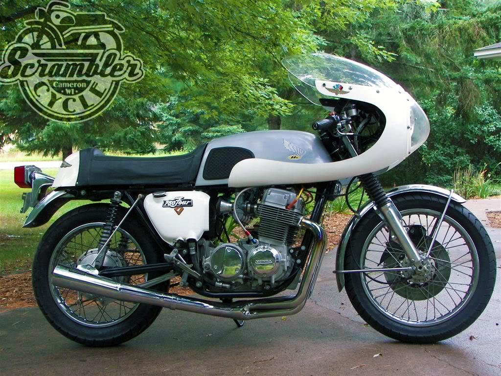 honda cb750 cafe racer | scramber cycle