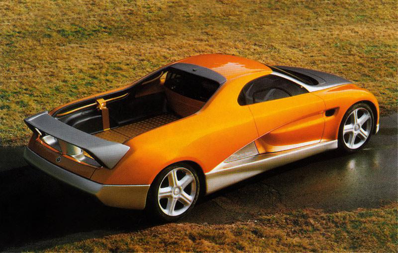 Baurspotting WTF Dept BMW El Camino Concept by Bertone