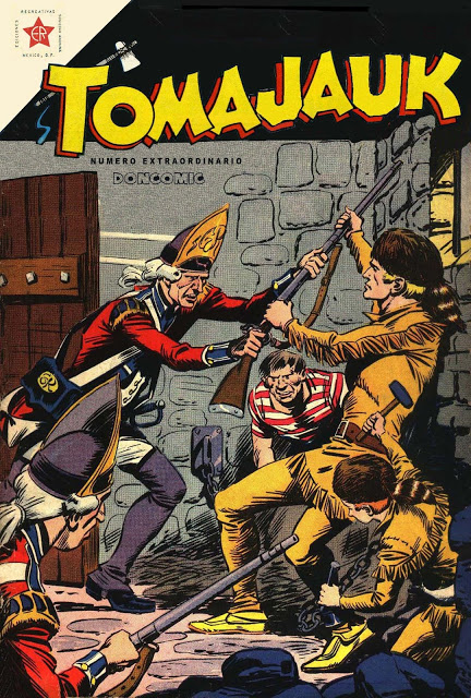 Tomajauk, aventuras extraidas de Superman Novaro. Compilatorios de Doncomic