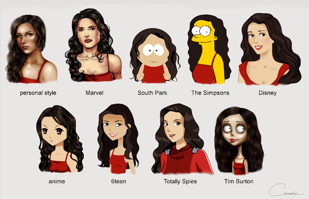 popular cartoon characters used