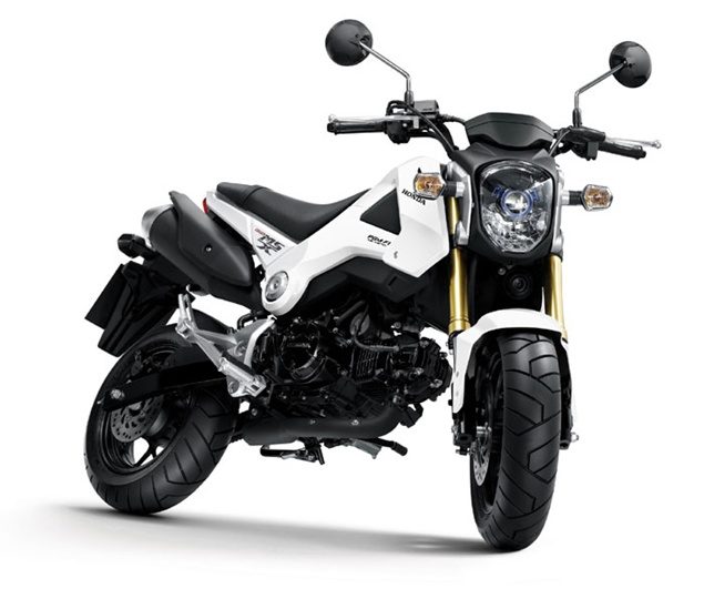 honda msx 125 mini moto vs kawasaki ksr new motorcycle review. Black Bedroom Furniture Sets. Home Design Ideas