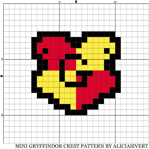 aliciasivert, alicia sivert, alicia sivertsson, harry potter, needlework, cross stitch, embroidery, pattern, diy, broderi, korsstygn, korsstygnsbroderi, korsstygnsmönster, mönster, broderimönster, gryffindoremblem, gryffindoremblemet, emblem, emblemet, hantverk, handarbete, fan art, gryffindor
