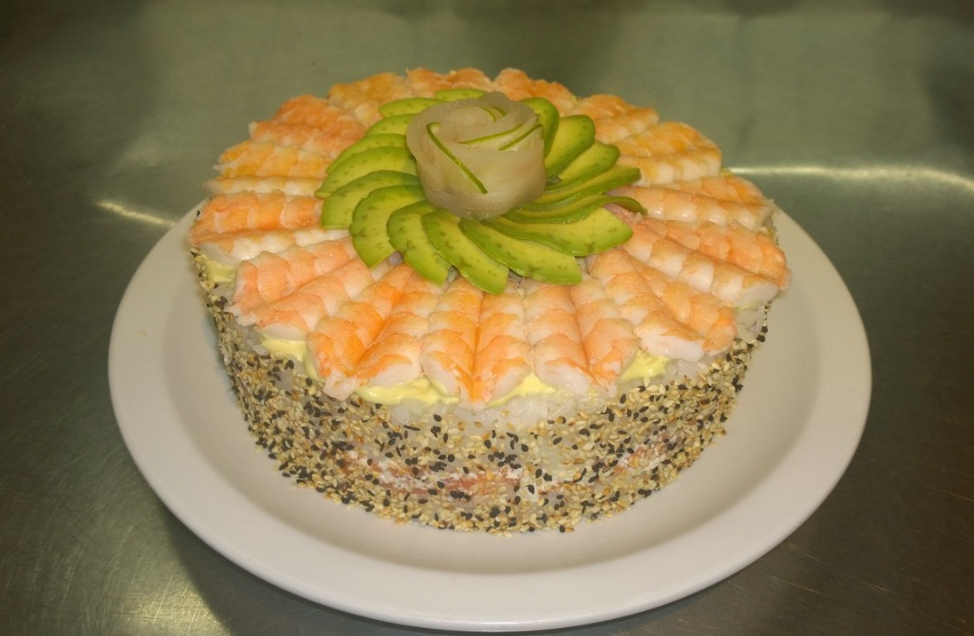 Resultado de imagen para pastel en forma de sushi