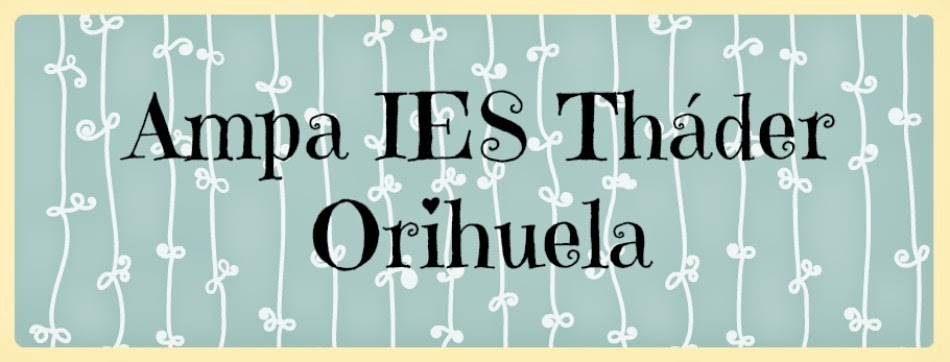 AMPA IES THADER Orihuela