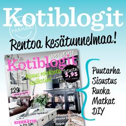 Blogini Parhaat KOTIBLOGIT 2/2015-lehdessä