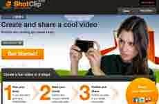 ShotClip: completo editor de videos online que permite compartir los mismos en YouTube, Facebook y Twitter