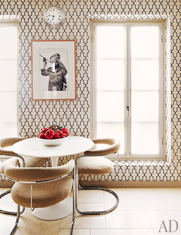 Phillip jeffries moroccan wallpaper b a s blog for Moroccan style wallpaper