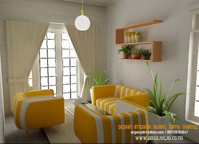 Ruang Tamu Minimalis Mewah 2011