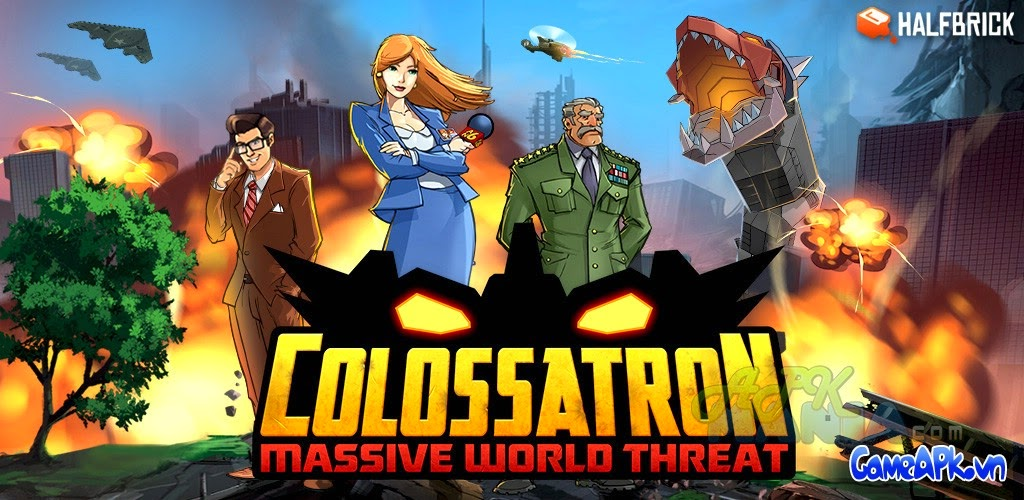 Colossatron v1.0.5 hack full tiền cho Android