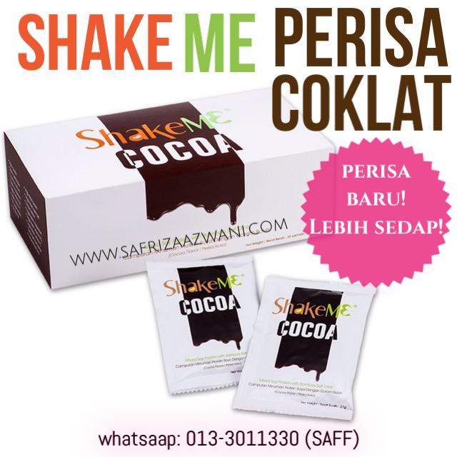 Produk Baru : Shake ME Haio Perisa Coklat