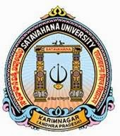 Satavahana University Time Table 2015