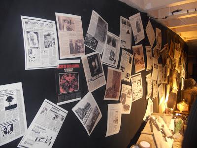 Cuarto Milenio y Milenio 3, modelos a seguir en el periodismo y concretamente del misterio. Iker Jiménez siempre acerca noticias del pasado, algunas de ellas aquí en la Exposición de Cuarto Milenio 2012.
