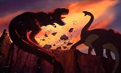 Le huiti me passager le petit dinosaure et la vall e des - Petit pieds le dinosaure ...