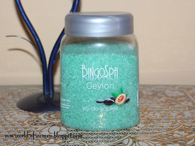 Cejlońska sól do kąpieli BingoSpa