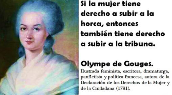 essay on olympe de gouges