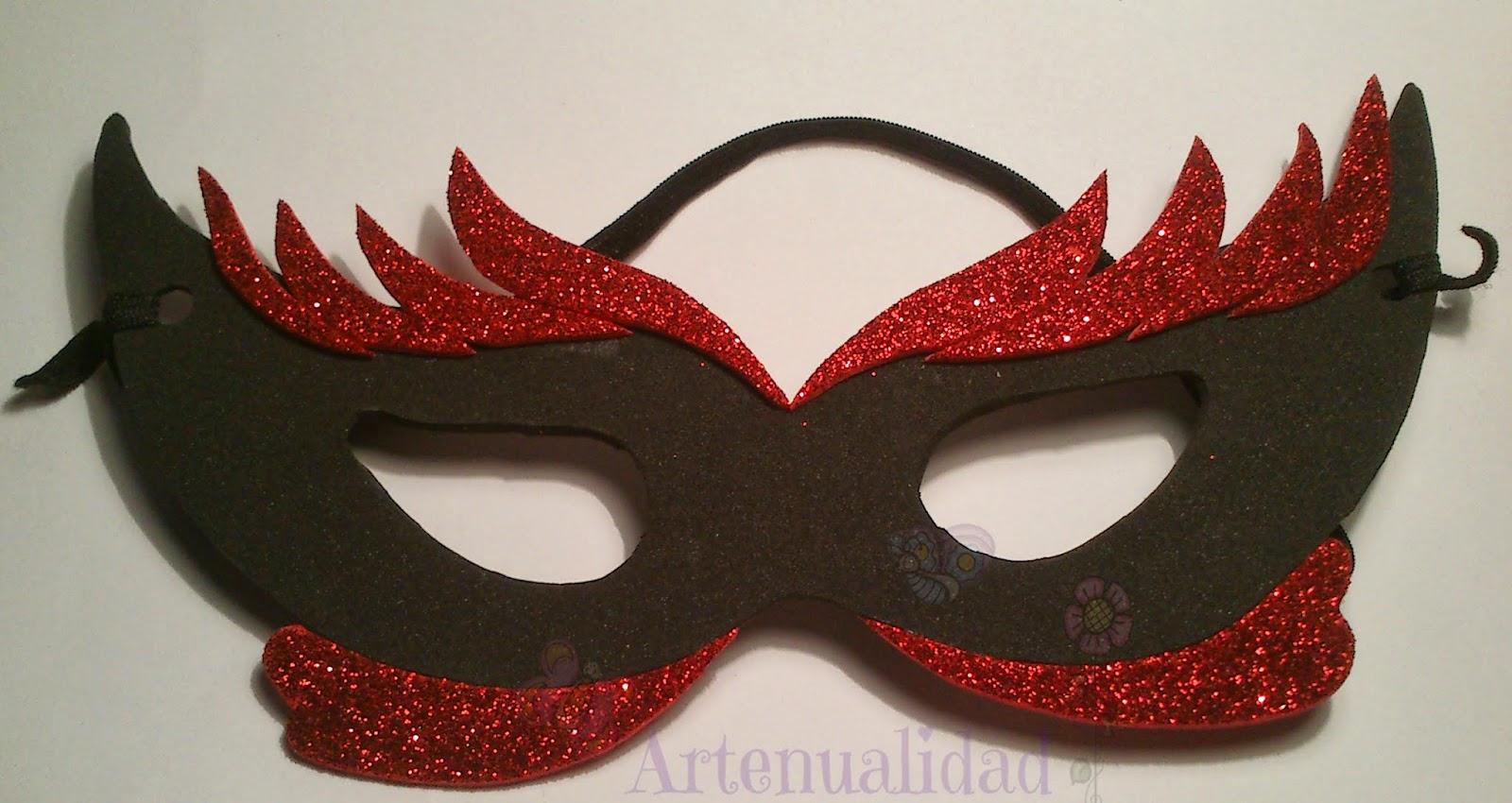 Mascaras para carnaval artenualidad - Mascaras para carnaval manualidades ...