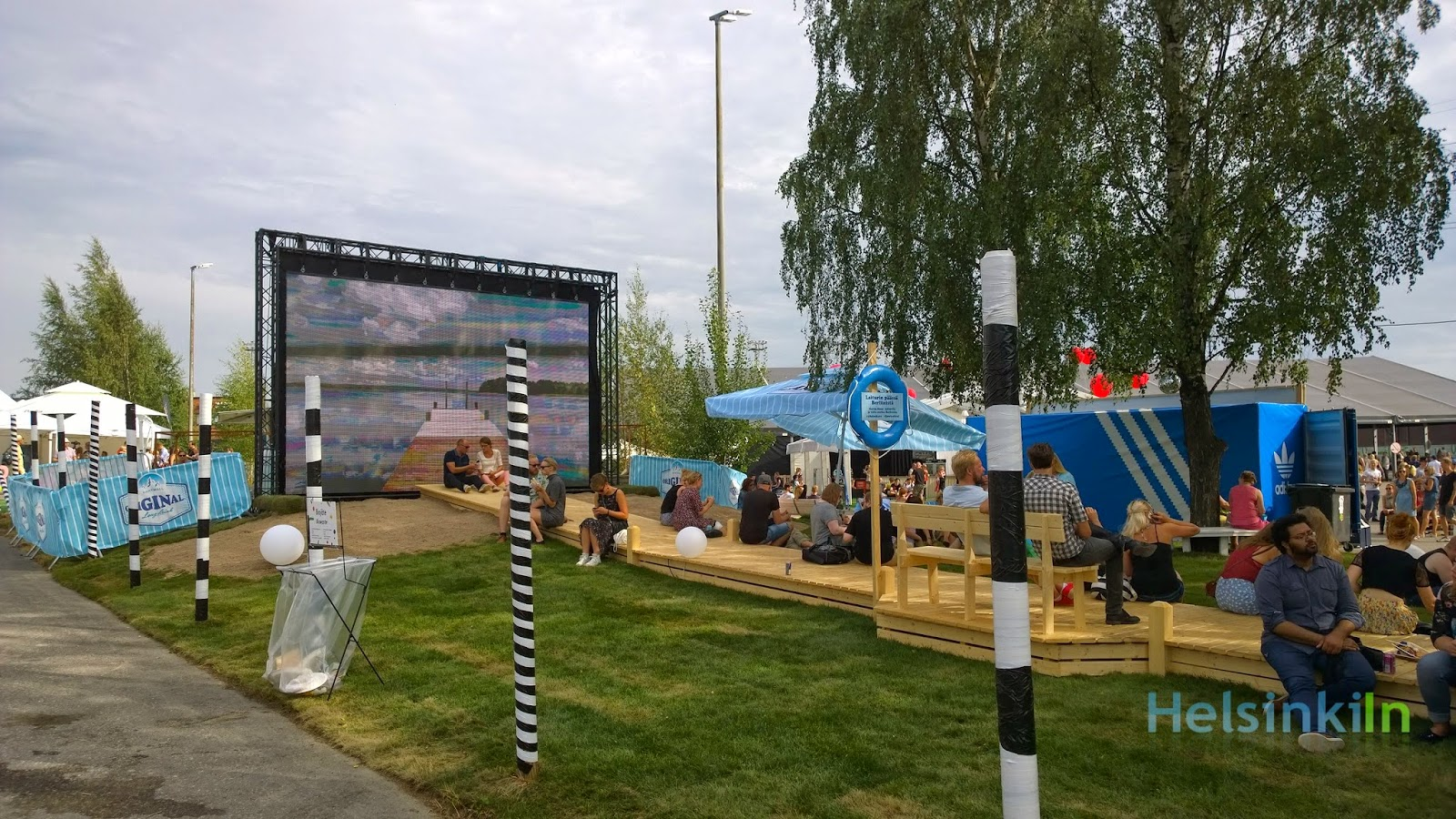 Lonkero pier at Flow 2014