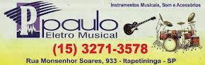Paulo  Eletro Musical Instrumentos Musicais, Som e Acessórios