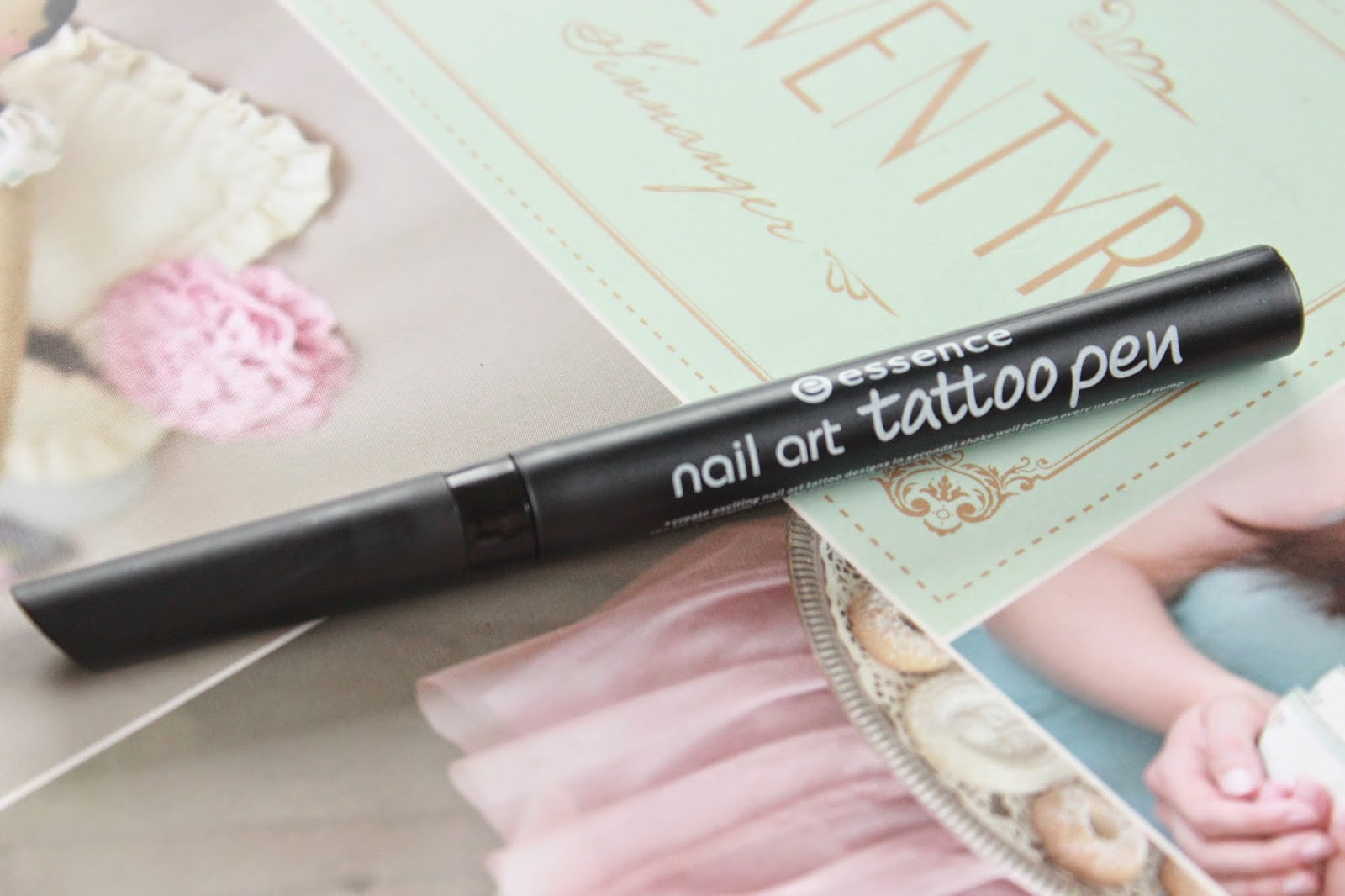 review essence nail tattoo pen