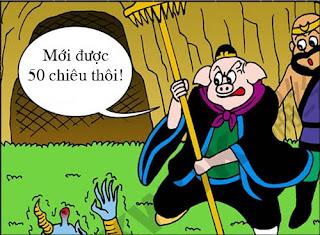 Tây Du Ký hài: Tham ăn dễ mất mạng
