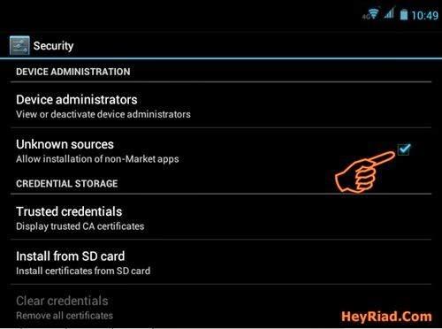 cara install aplikasi apk android
