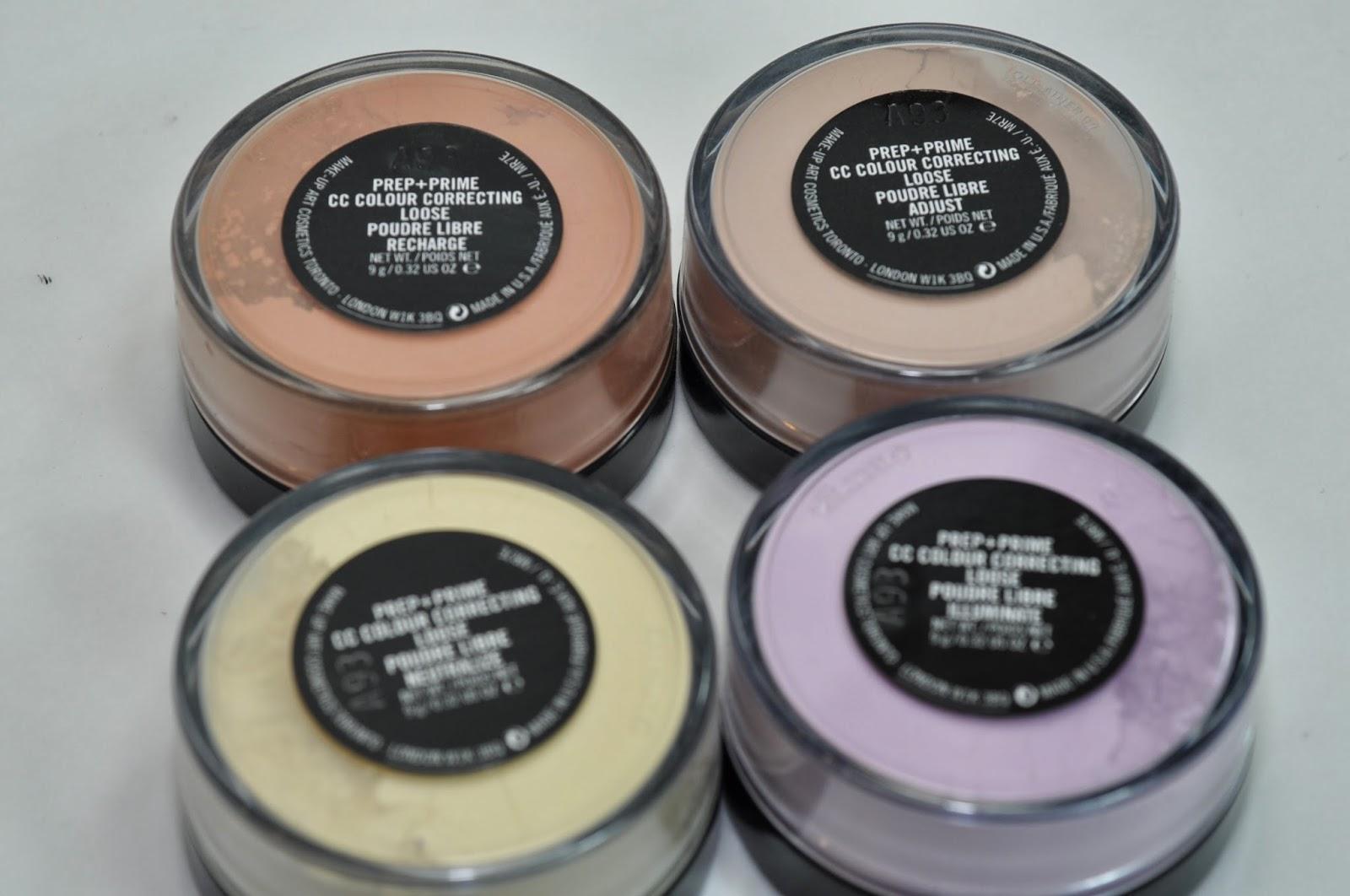 Mac prep prime cc colour correcting loose powder swatches review mac prep prime cc colour correcting loose powder swatches review nvjuhfo Gallery