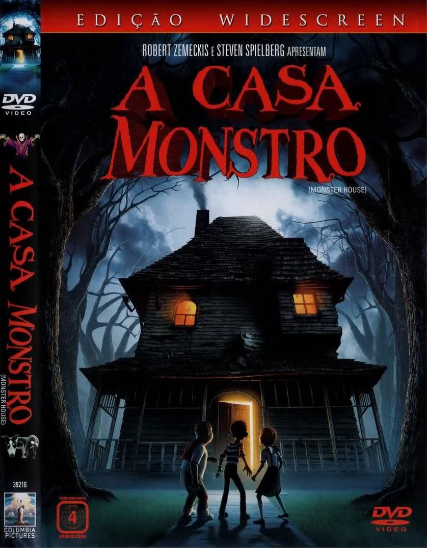 Filme Poster  A Casa Monstro DVDRip RMVB Dublado-TELONA