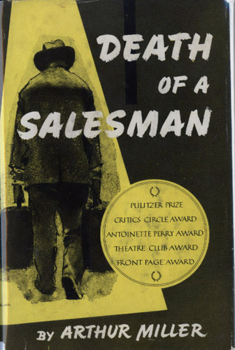 an analysis of the play arthur millers death of a salesman In 'death of a salesman' arthur miller presents a like the classical tragedy his death is also after the successful production of the play in china, miller.