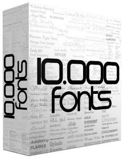 Font Collection (11.000++ Font) Terbaru 2015