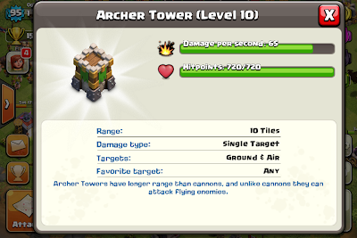 Archer Tower ~ Clash of Clans Tactics
