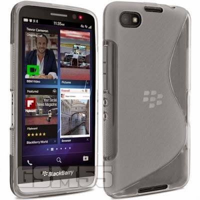 Coque S-Line avec ports dégagés pour BlackBerry Z30