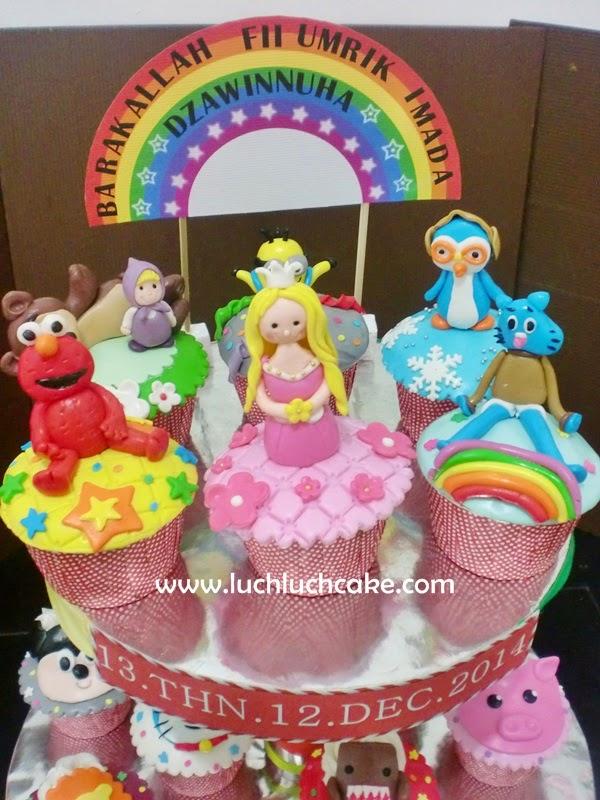 cupcake tingkat dearah surabaya - sidoarjo