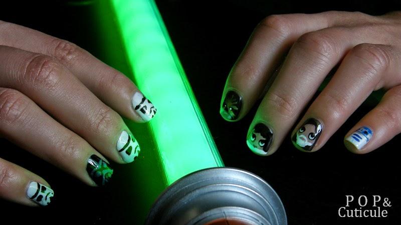 Pop & Cuticule Manucure Nail art Star Wars