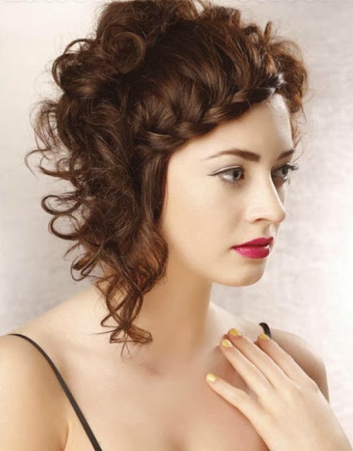 Women Short Hairstyles 2014 woman short curly haircuts – Short ...