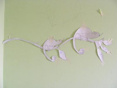 Как сделать мозаику на стене. Мастер-класс 25169