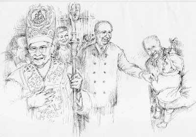 Kardinal Koenig, Klestil, Kind, Österreich, Hofburg, Wien