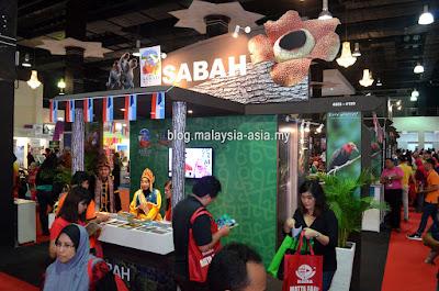 Sabah Tourism Booth Matta Fair