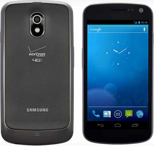how to update verizon galaxy nexus android rom
