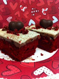 Red Velvet Chocolate Mousse Cakes