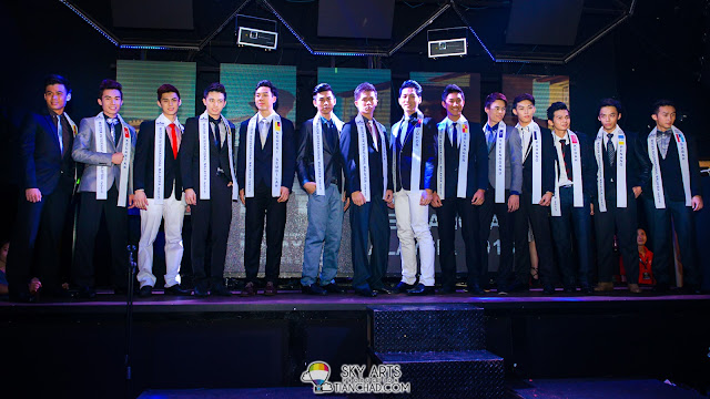 Mister International Malaysia 2013 dressed up in smart looking coat and tie