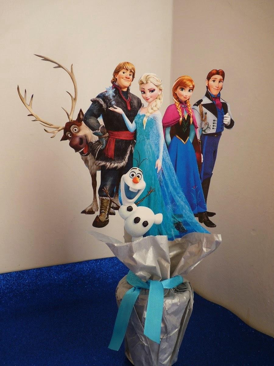 Centros De Mesa De Frozen