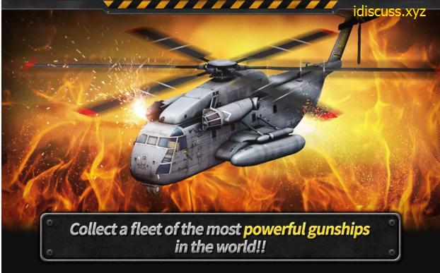 gunship batyle 3d action game