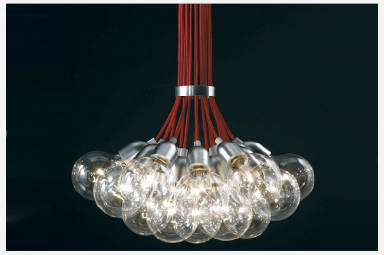 Heather Horwitz Design: Design DIY: Exposed bulb pendant chandeliers