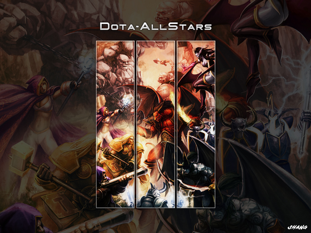 All Stars Wallpaper 3 , here you can see DotA All Stars Wallpaper 3 ...