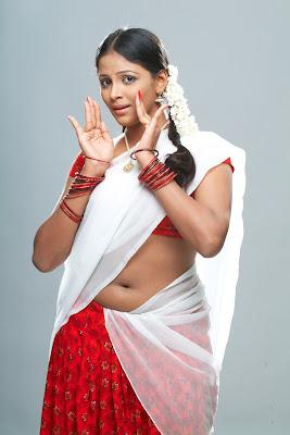 subhiksha in half saree spicy shoot