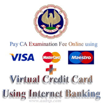 Online Payment of CA Examination Fee