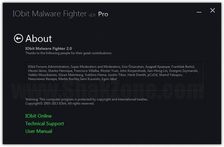 IObit Malware Fighter Pro 2.0.0.202 with Serial Key 2013 Full Version