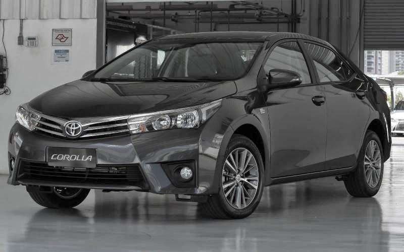Novo Corolla 2015 preto